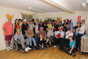 Hats for Headway Photo with consent
